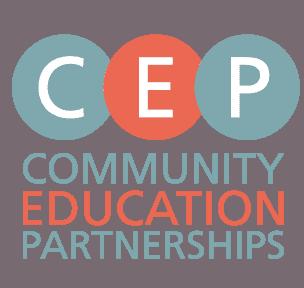 CEP Community Education Partnerships Logo